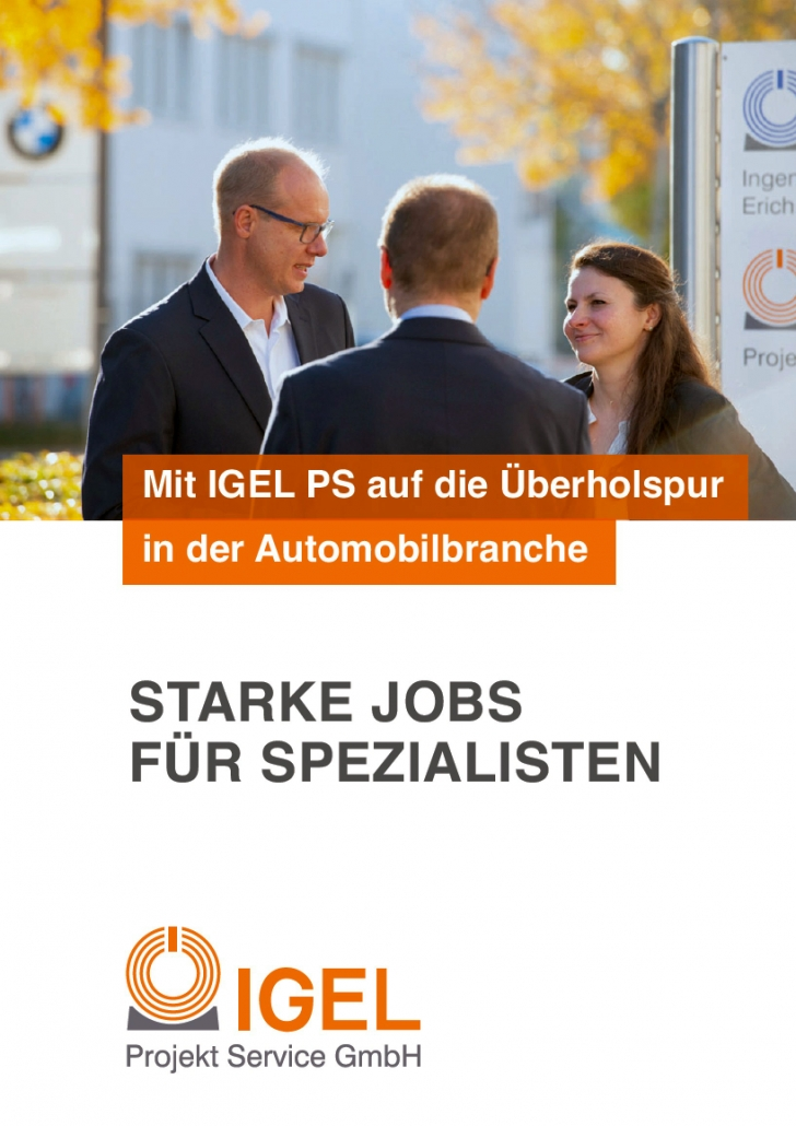 IGEL PS Recruitingbroschuere